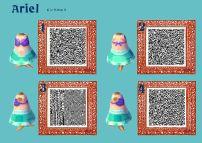 Animal Crossing Leaf Qr Codes Christmas Dresses