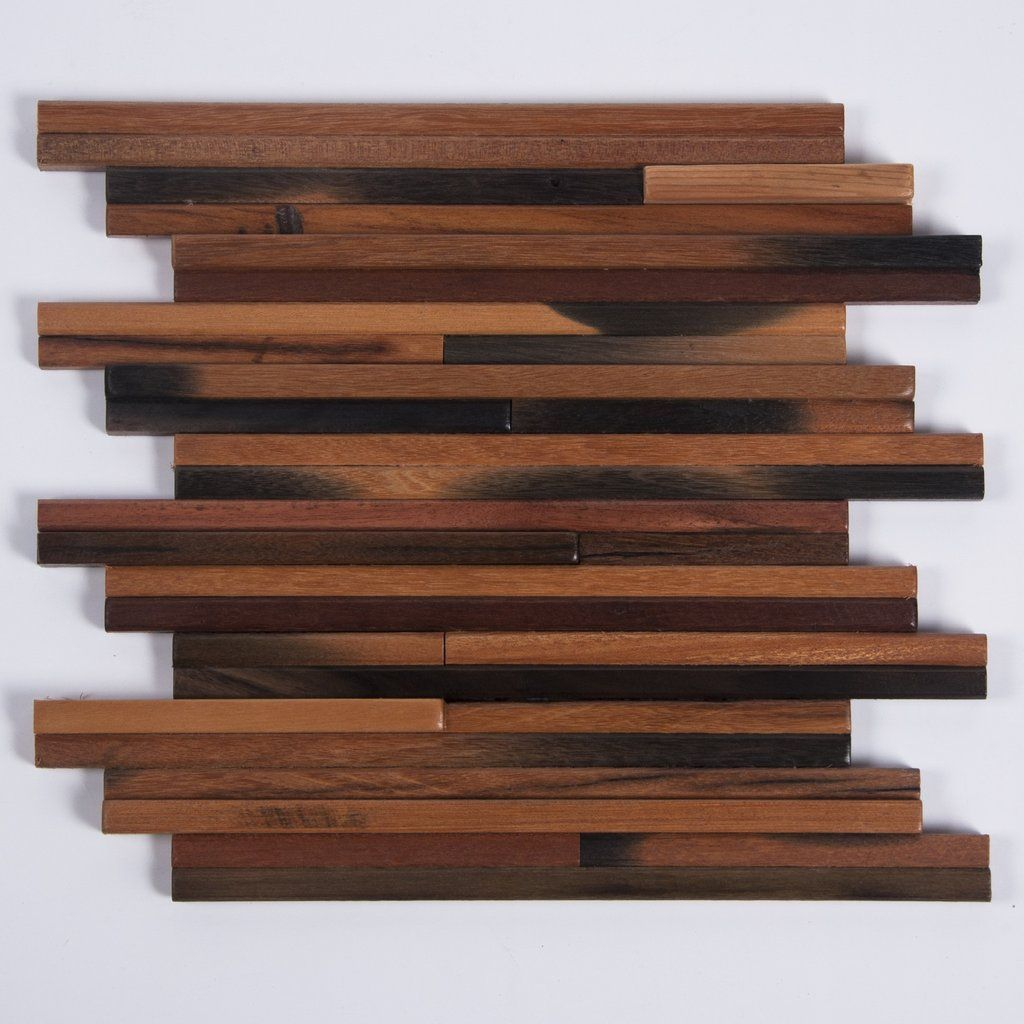 Wood Accent Wall Strip Pattern Antique Boat Wood DIY Interlocking Tile Woods Walls And Wall Wood