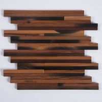 Wood Accent Wall Strip Pattern Antique Boat Wood DIY ...