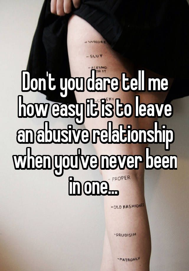 Getting Out Abusive Relationship Quotes