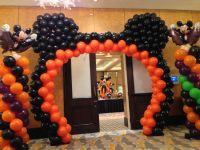 Halloween balloon decoration, Mickey mouse balloon arch ...