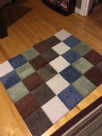 Carpet Samples and Gorilla tape area rug. | Stuff I've ...