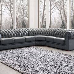 Grey Leather Sofa Ideas Eams Appealing Upholstered Sectional Chesterfield