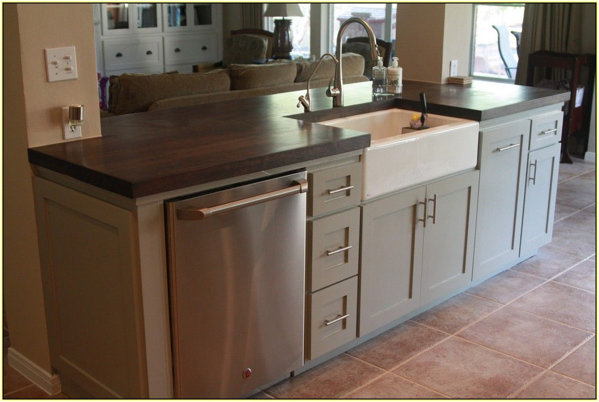 kitchen island with sink and stove top tile flooring best 25 43 ideas on pinterest