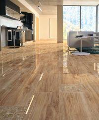 Living room tile / floor / porcelain stoneware / damask ...