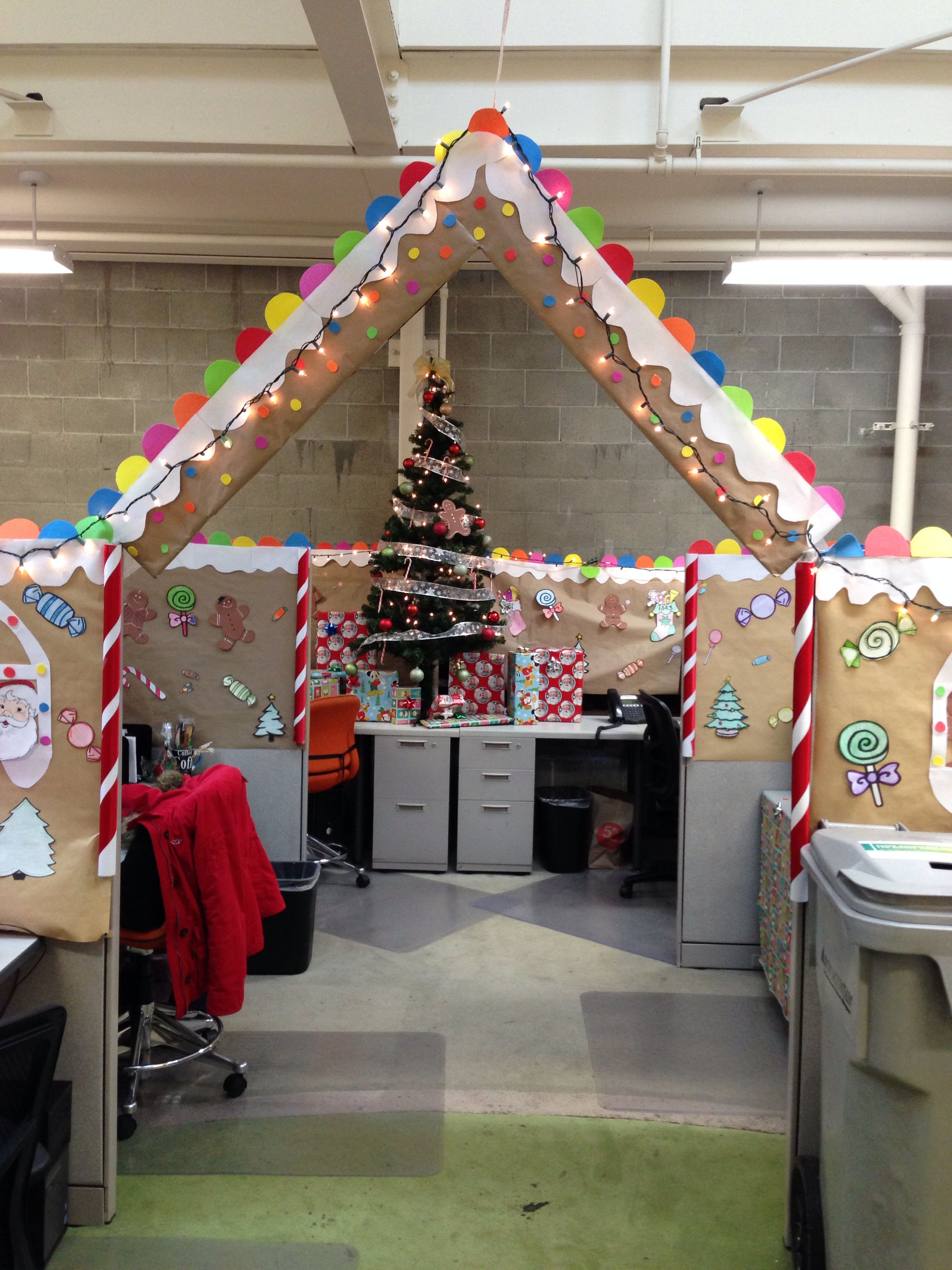 Office Decor Gingerbread House