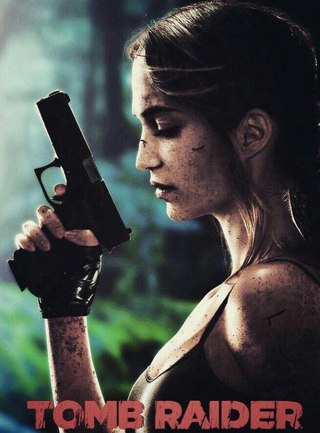Tomb Raider Movie 2018 Poster Andrew Garfield