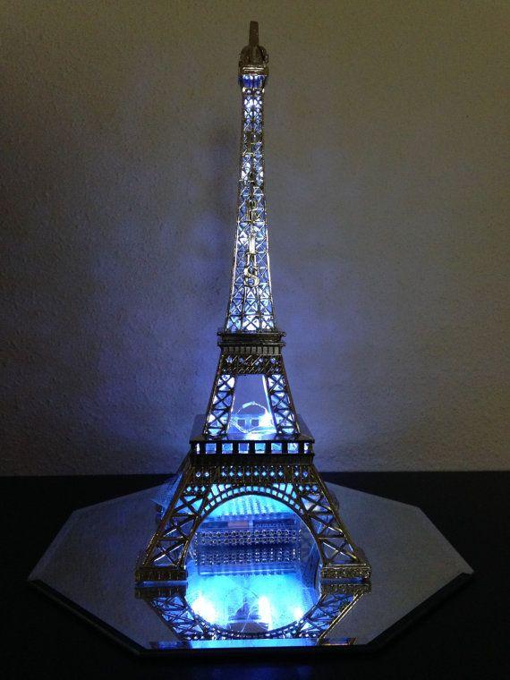 Paris Centerpiece LIght Up Eiffel Tower 3 Carolyn by