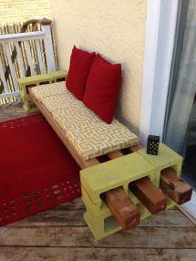 Diy Cinder Block Seating Inspired Pinner