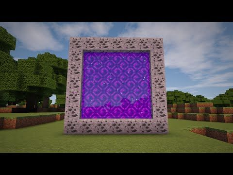 How To Make A Portal To The MOON In Minecraft No Mods