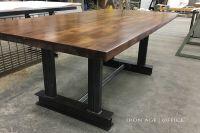 Glenn Conference Table | industrial desk | | office desk ...