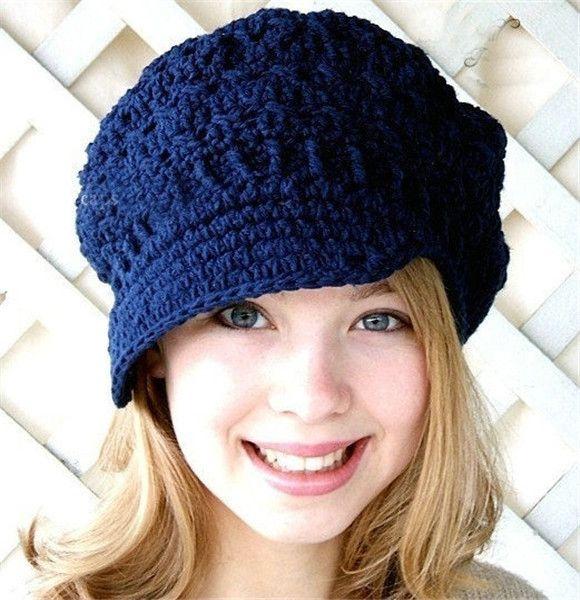 Loom Knitting Slouchy Hat Pattern