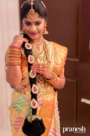 traditional southern indian bride