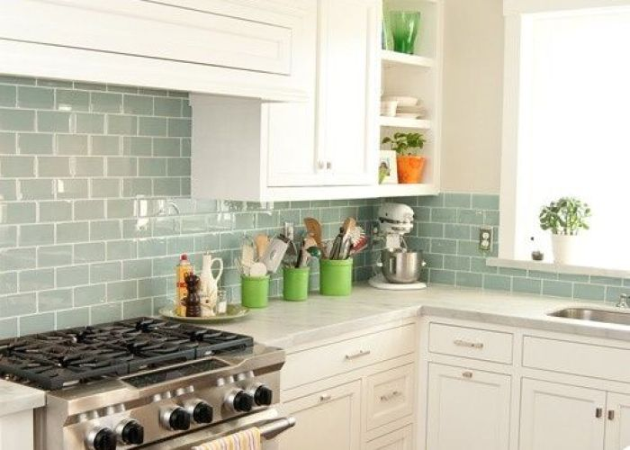 Surf glass subway tile also tiles and beach