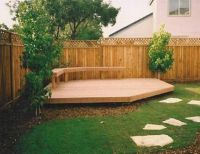 Landscaping And Outdoor Building , Backyard Decking