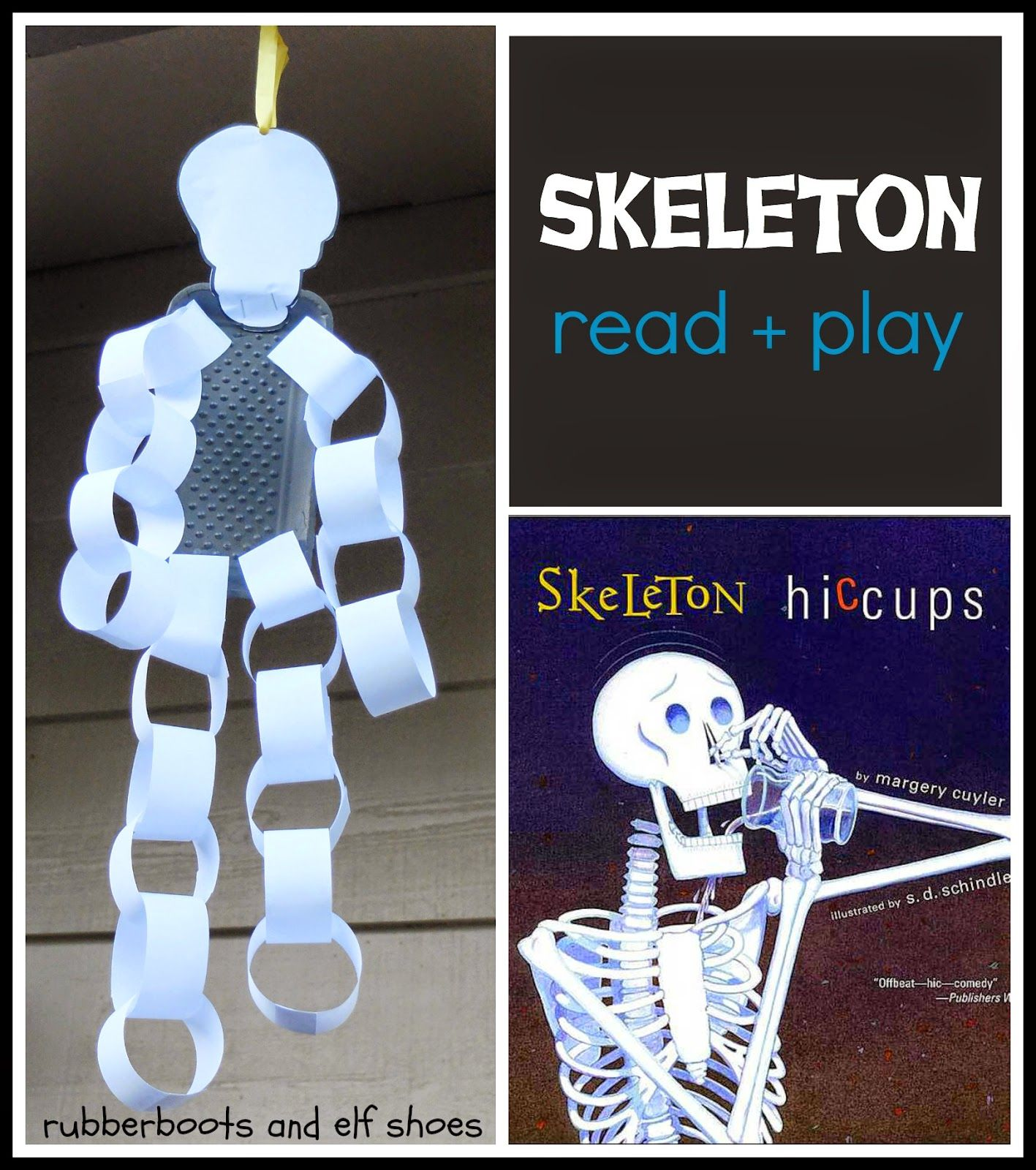 Skeleton Hiccups A Halloween Book And Activity I Love