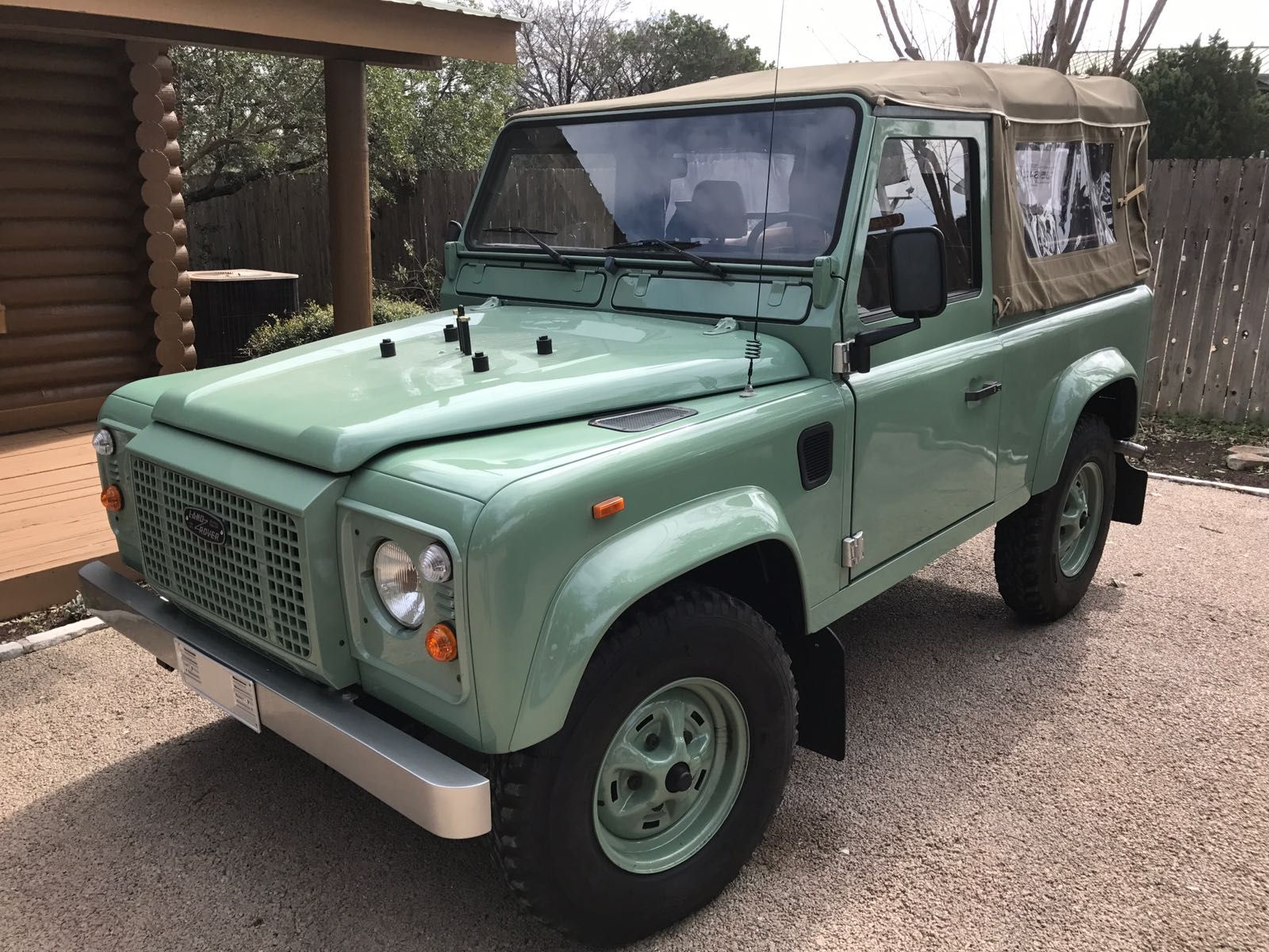Land Rover Defender 90 For Sale with Texas Title