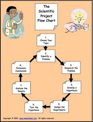 Flow Chart for The Scientific Method (Scientist, PBL