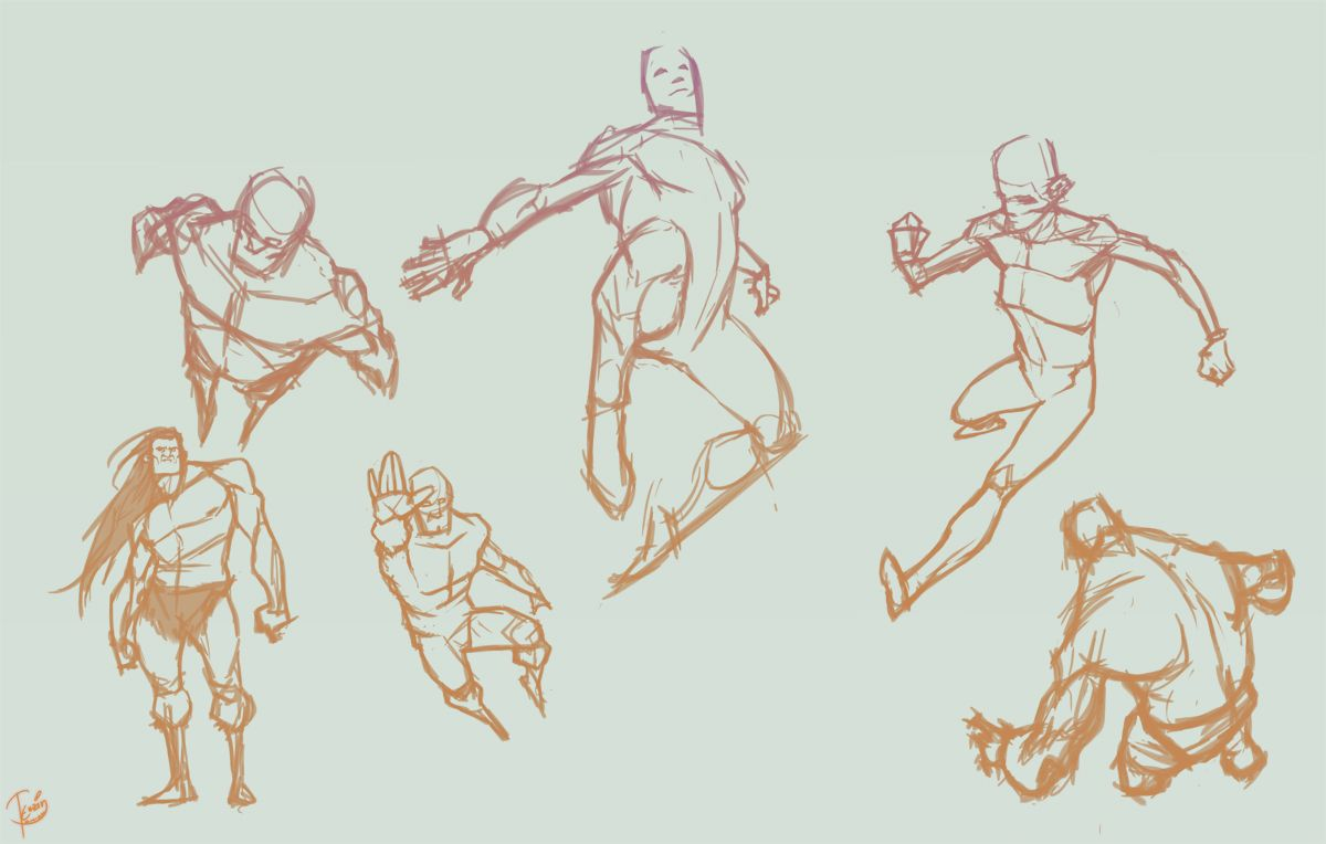 Pics For > Dynamic Poses