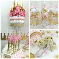 Princess Baby Shower Candy Buffet Diaper by ...