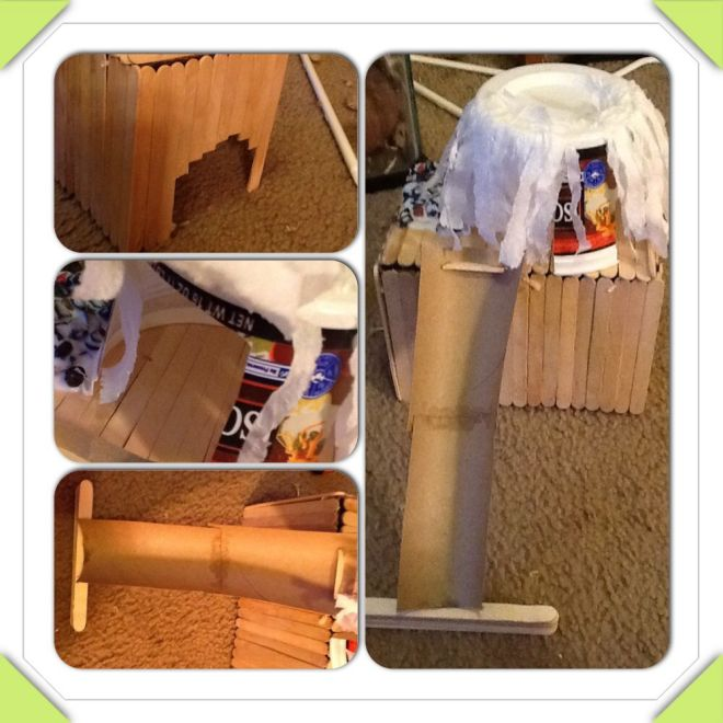 Diy hamster house all you need is glue popsicle sticks