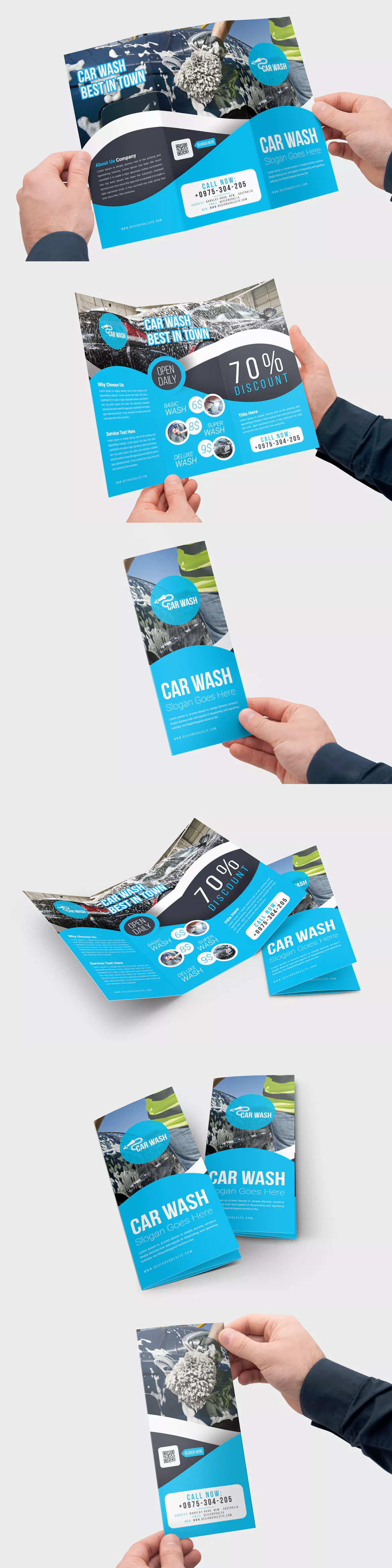 Car Wash Flyer Template Yelom Myphonepany Co
