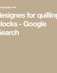 Quilling also designes for clocks google search najma pinterest rh uk