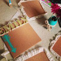 DIY cork board | diy | Pinterest | Diy cork board, Cork ...