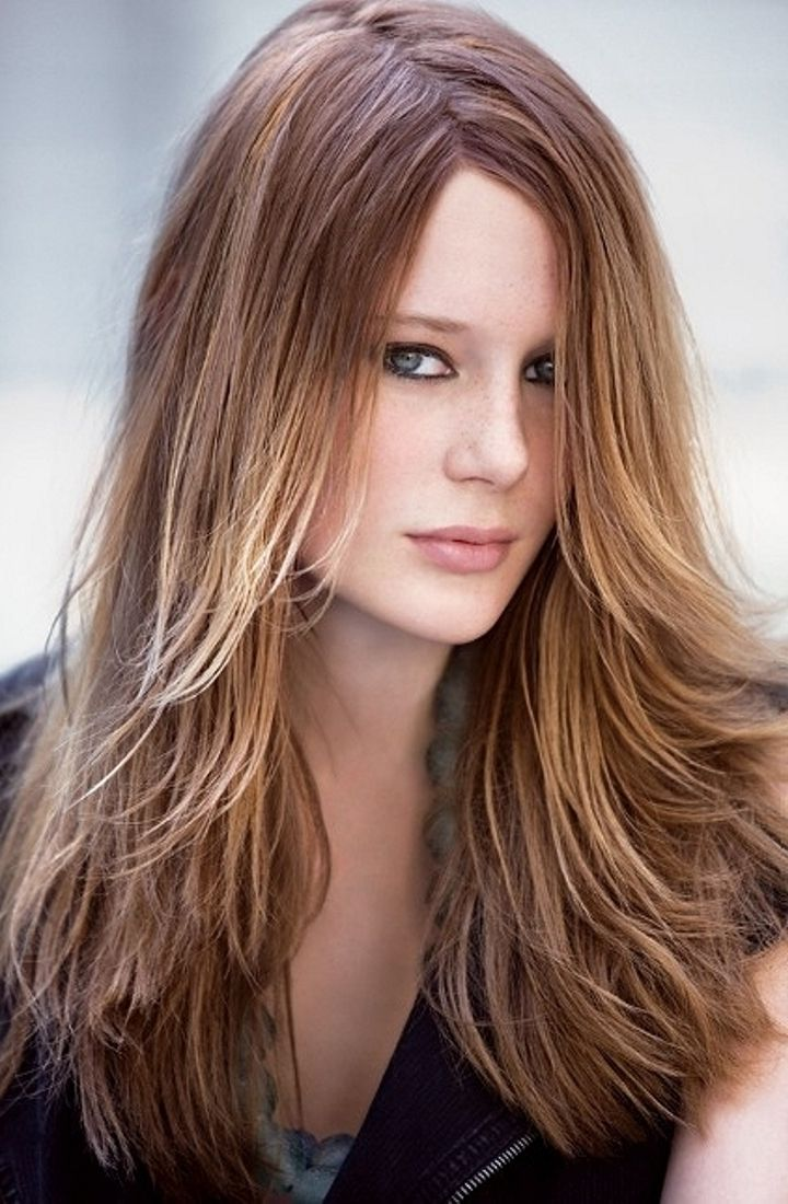 Long Hairstyles For Round Faces Long Haircuts Haircuts And