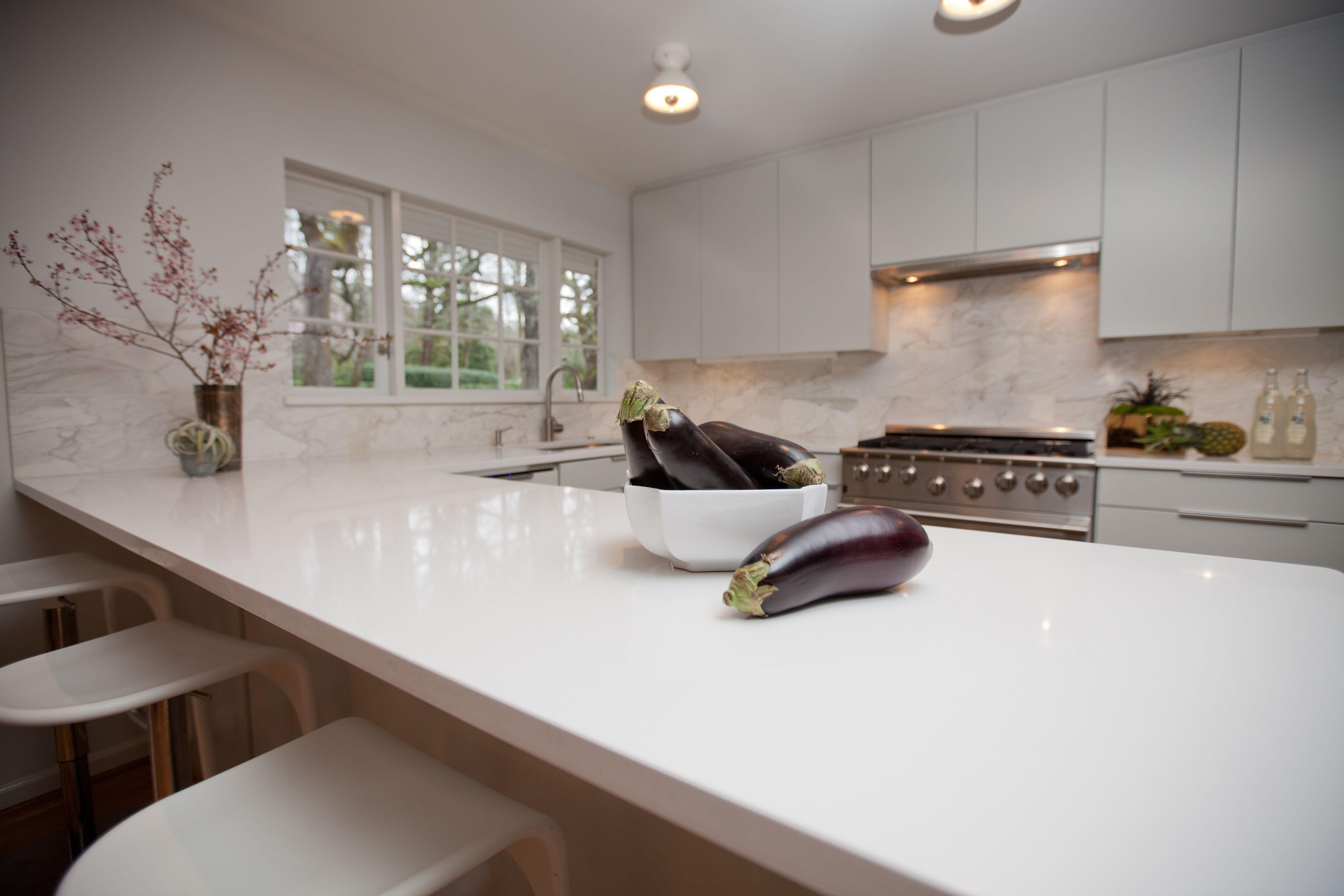 white kitchen countertops center island quartz set on wooden furniture