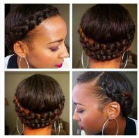 Great winter protective style | Natural Hair Sew Ins ...