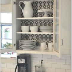 How To Add A Pantry Your Kitchen Island With Sink For Sale Try Adding Wallpaper Or Fabric The Back Wall Of