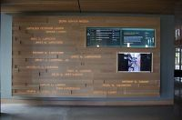 projected text with digital screens | University of Oregon ...