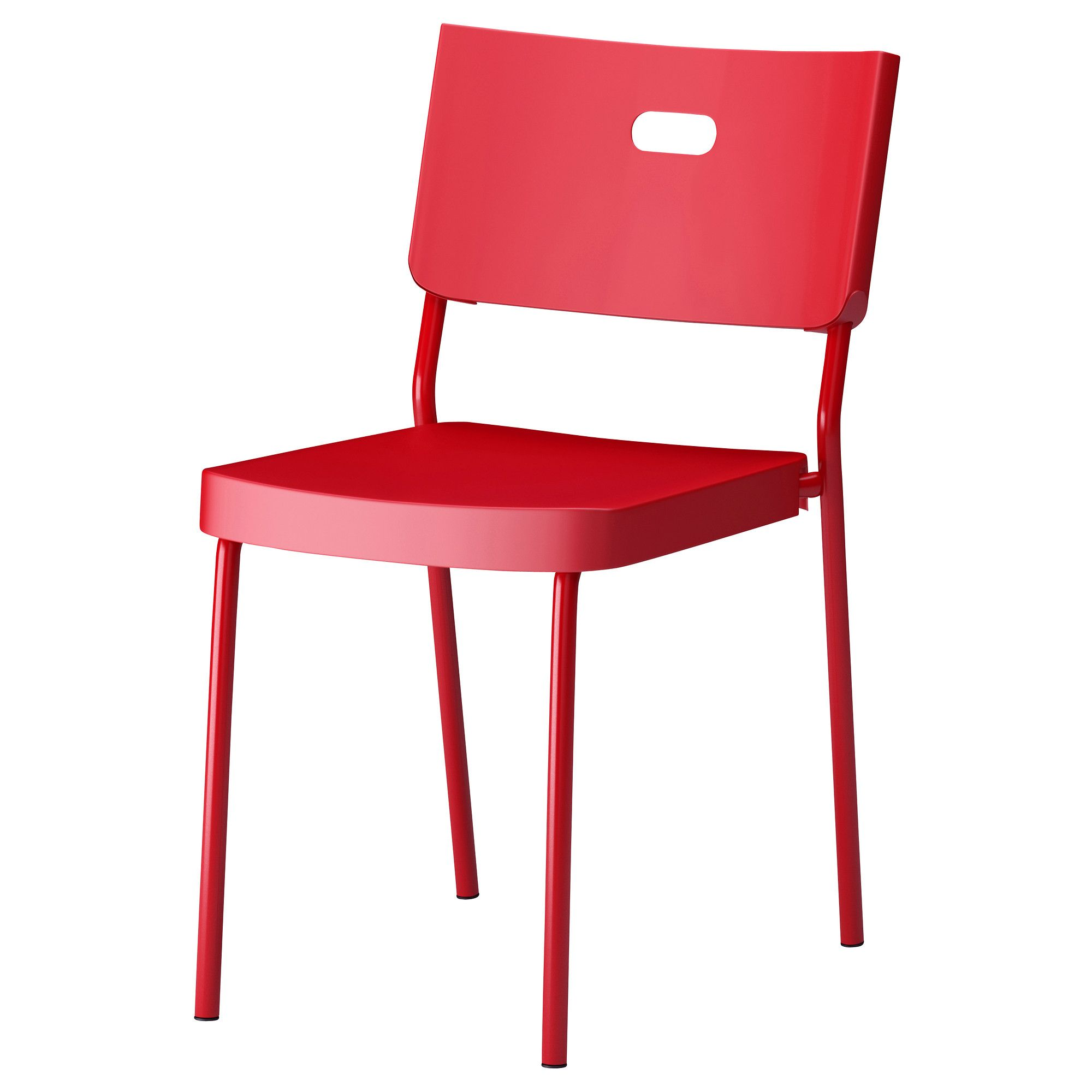 red desk chair ikea pool float herman sedia nero products i love pinterest
