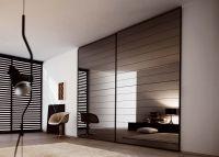Wardrobe door mozaic mirror/wood #wardrobes #closet # ...