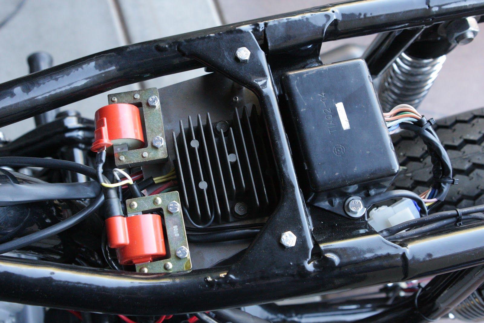 Cb550 Wiring Harness