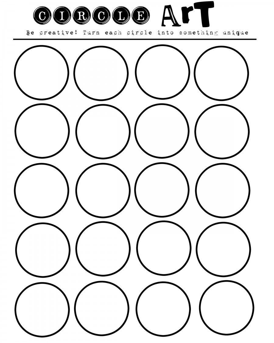 geometric art printable...let your kids imaginations run