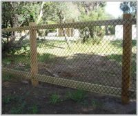 Fence Ideas For Dogs Inexpensive fencing ideas | new home ...