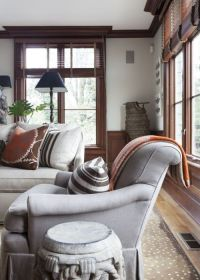 The Best Neutral Paint Colours to Update Dark Wood Trim ...