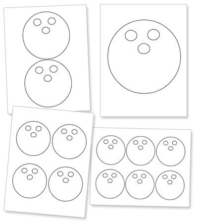 Free Printable Bowling Ball Template from PrintableTreats