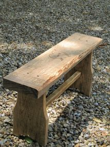 Build Board Bench With 8' 2x10 Mabey