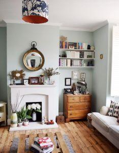 Room eclectic modern bohemian vintage interior also decor farrow ball teresa   rh pinterest