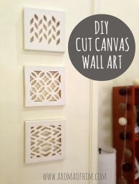 76 Brilliant DIY Wall Art Ideas for Your Blank Walls | Cut ...