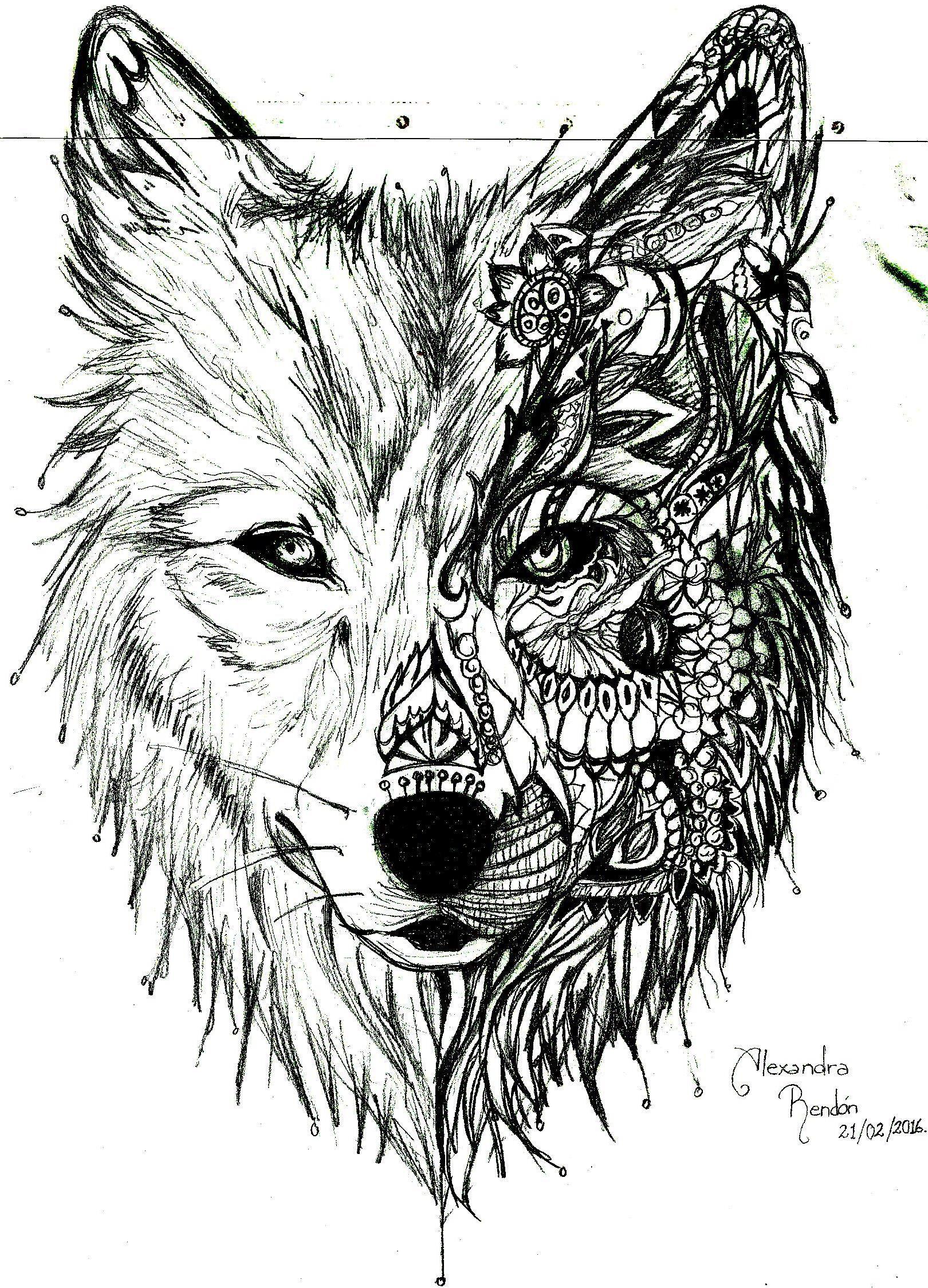 Como Dibujar Un Lobo Facil Para Nios Top Cmo Dibujar Un