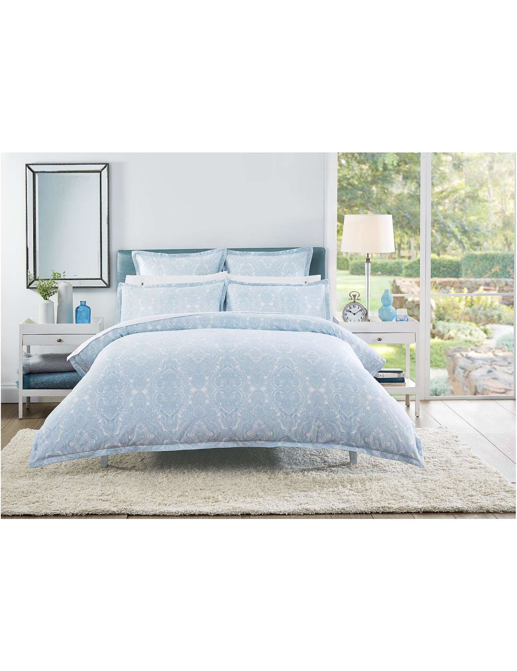 David Jones  Cotton House Ninevah Double Bed Quilt Cover