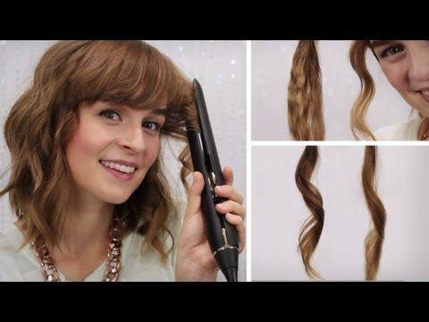 ▶ Hairbst Haare Locken Mit Glätteisen 4 Stylings & Mein