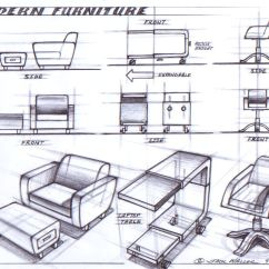 Chair Design Standards Ottoman Gaming Modern Furniture Sketching And Drawing Pinterest