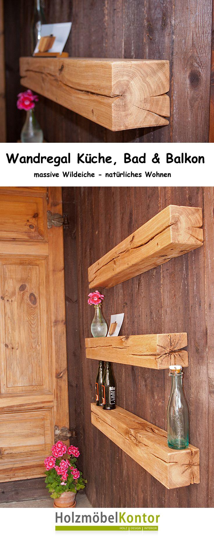 Wandregal fr Kche Bad und natrlich auch Terrasse und