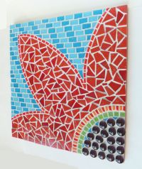Mosaic Wall Art DIY Made of Broken Tiles | Lulu ...
