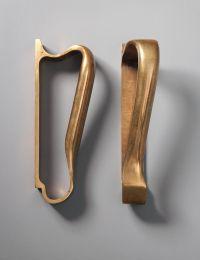 Alvar Aalto; Bronze Door Handles by Valaistus, c1955 ...